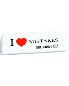 Ластик  I Love Mistakes