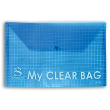Папка-конверт с кнопкой MY CLEAR BAG