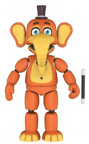 Орвилл (14 см) - Funko Five Nights at Freddy's Pizza Simulator - Orville Elephant Collectible Figure, Multicolor