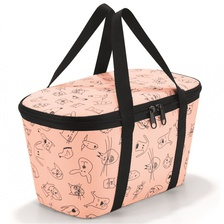 Термосумка детская Coolerbag XS cats and dogs rose