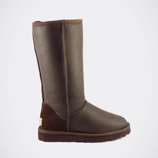 Угги UGG Classic Tall Metallic Chocolate