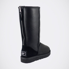 Угги UGG Classic Tall Zip Metallic Black