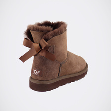 Угги UGG Mini Bailey Bow Chocolate