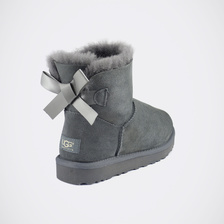 Угги UGG Mini Bailey Bow Grey