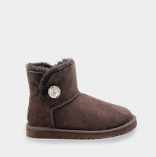 Угги UGG Mini Bailey Bling Chocolate