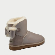 Угги UGG Mini Neveah Metallic Sand