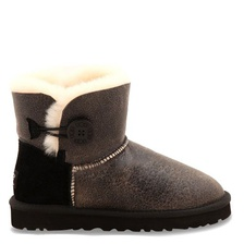 Угги UGG Mini Bailey Button Bomber Black