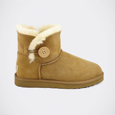 Угги UGG Mini Bailey Button Chestnut