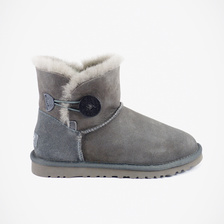 Угги UGG Mini Bailey Button Grey