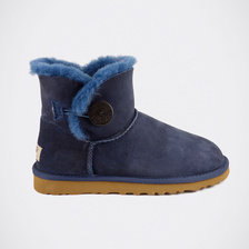 Угги UGG Mini Bailey Button Navy